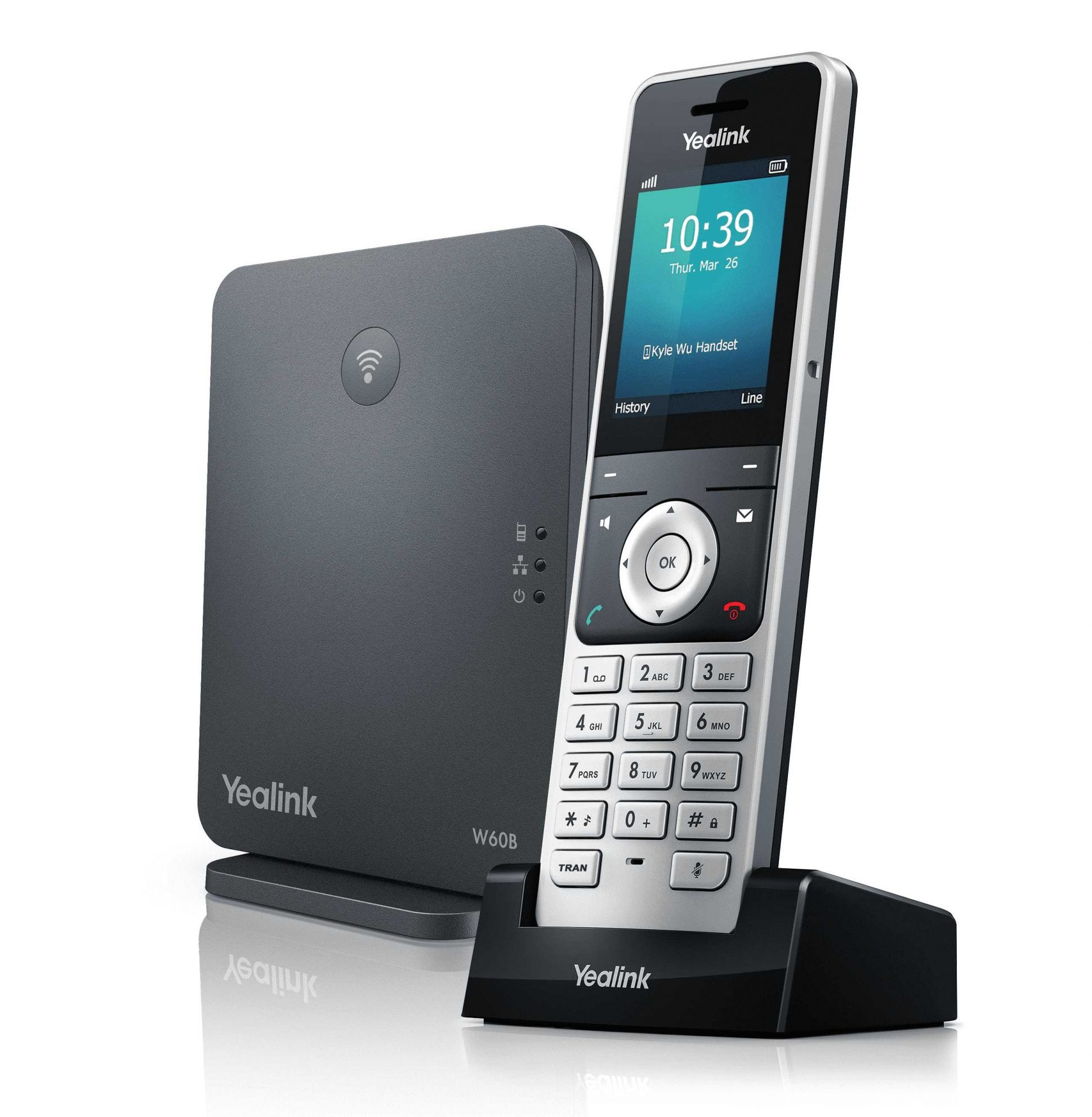 Yealink W60 DECT Phone with W56H Handset